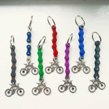 Mountain Bike Keychain Keyring Key Fobs Gift for Cyclist Bicycle Rider made from Upcycled Bike Parts Tour Cyclist Present - Awesome Bike Gifts - Bike Essentials Accessories And T-shirts