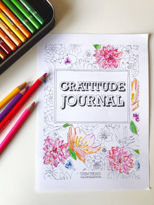 Gratitude Journal (Posted option)