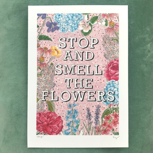*NEW* Stop And Smell The Flowers (PINK)