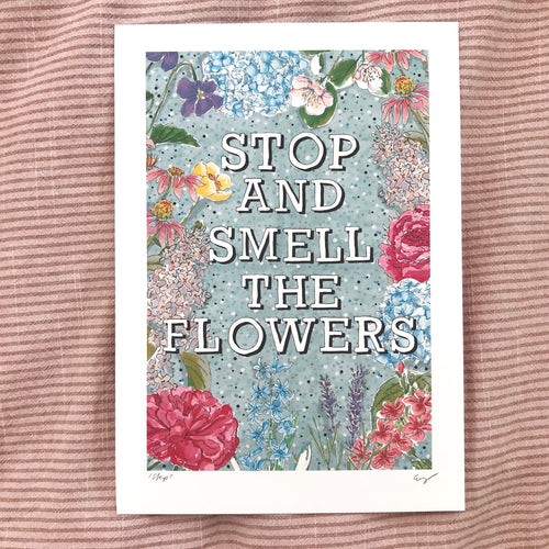 *NEW* Stop And Smell The Flowers (BLUE)