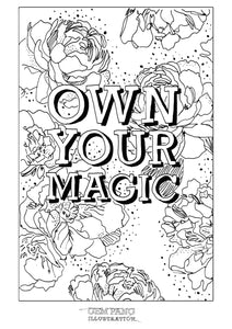 Colouring in Book Set of 6 (b)