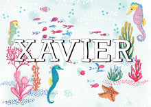 Underwater Personalised Name Print