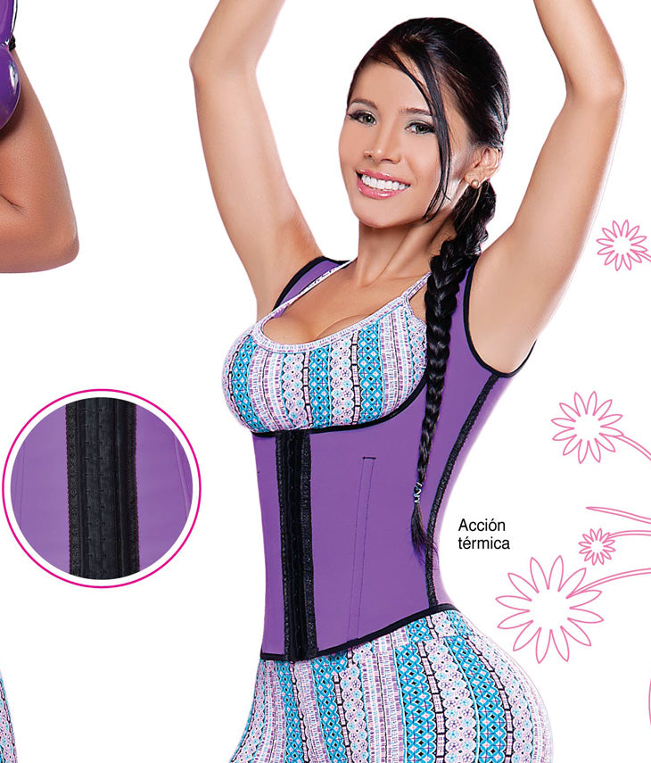 SALOME 902 SPORT VEST WITH INTERNAL LATEX