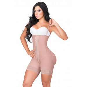 JACKIE LONDON 2010 SHORT  BODYSHAPER WITH COVERED BACK AND THIN STRAP