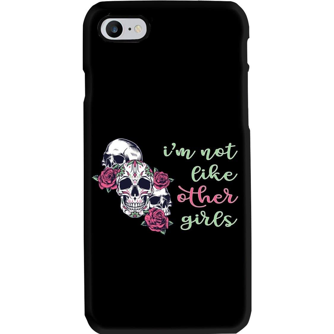 All Nerds Here I'm Not Like Other Girls Phone Case - Snap * iPhone * Samsung * - iPhone 8 Case / Gloss / Apparel