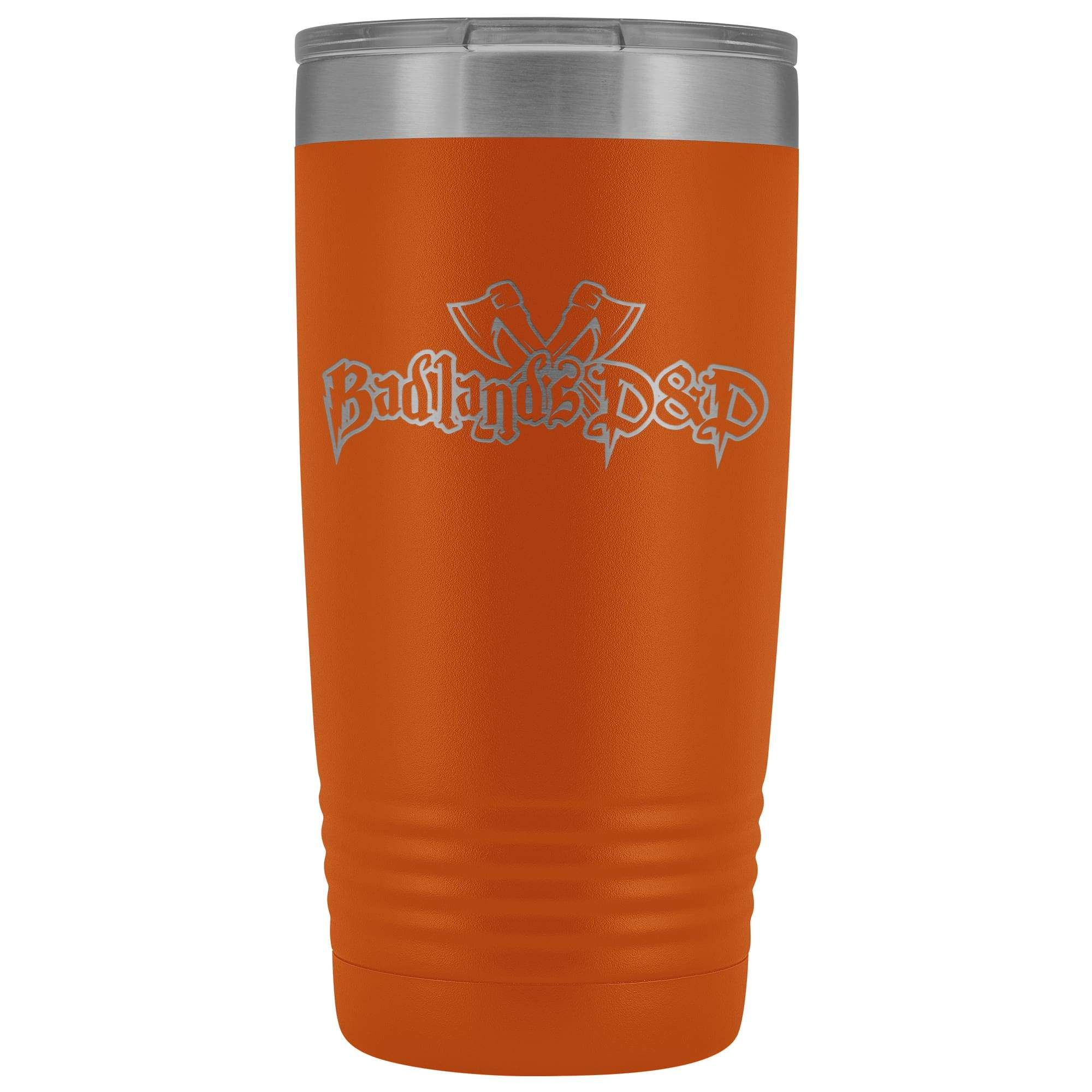 Badlands D&D 20oz Vacuum Tumbler - Orange - Tumblers