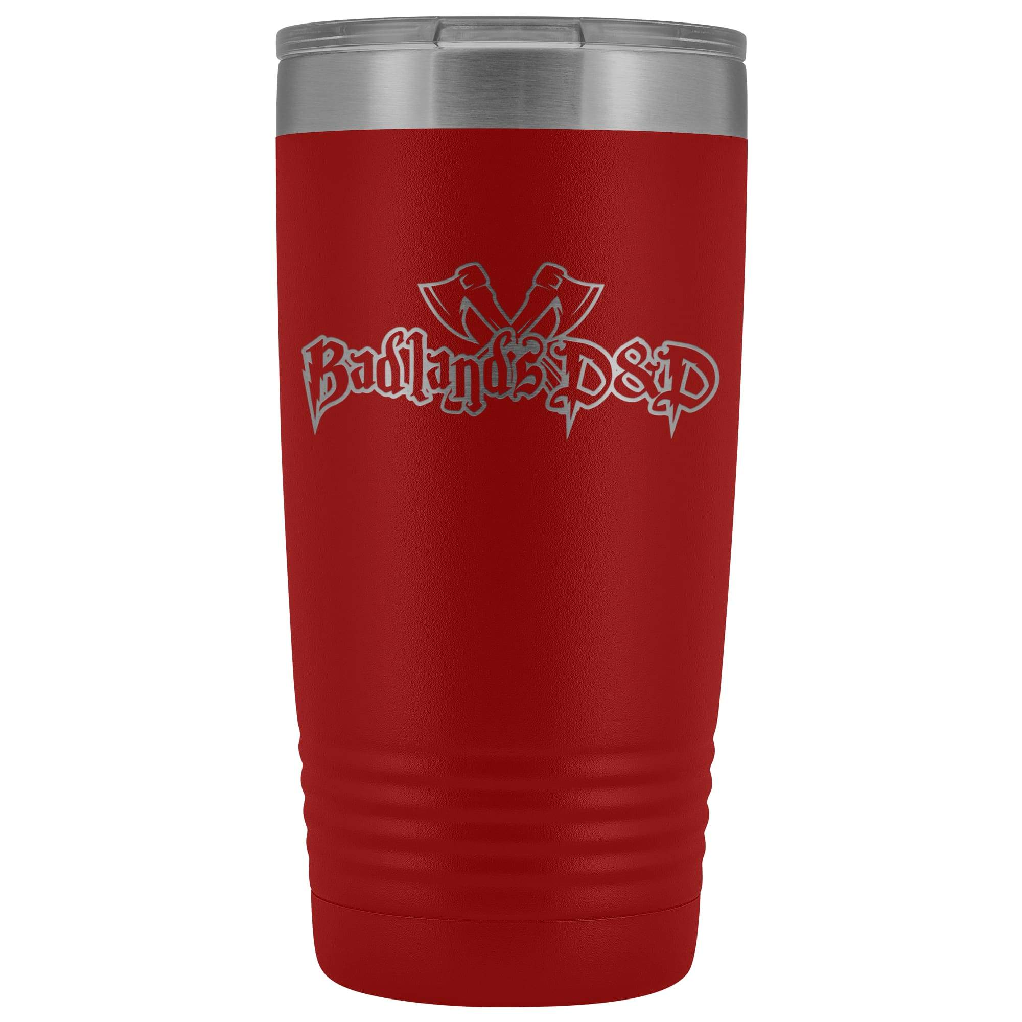 Badlands D&D 20oz Vacuum Tumbler - Red - Tumblers