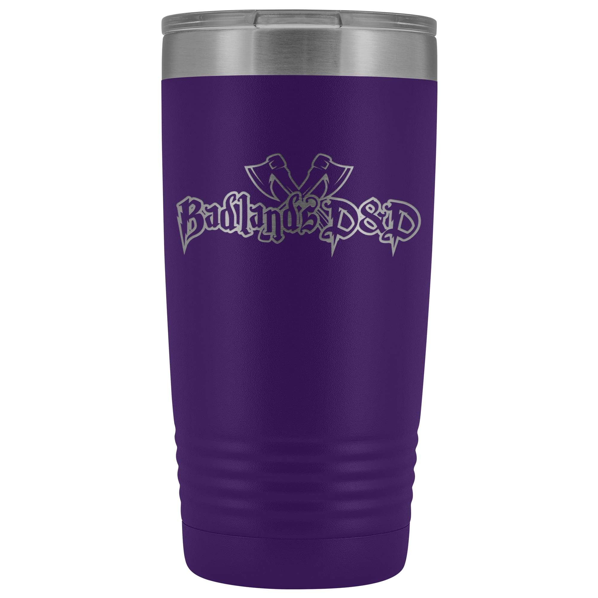 Badlands D&D 20oz Vacuum Tumbler - Purple - Tumblers