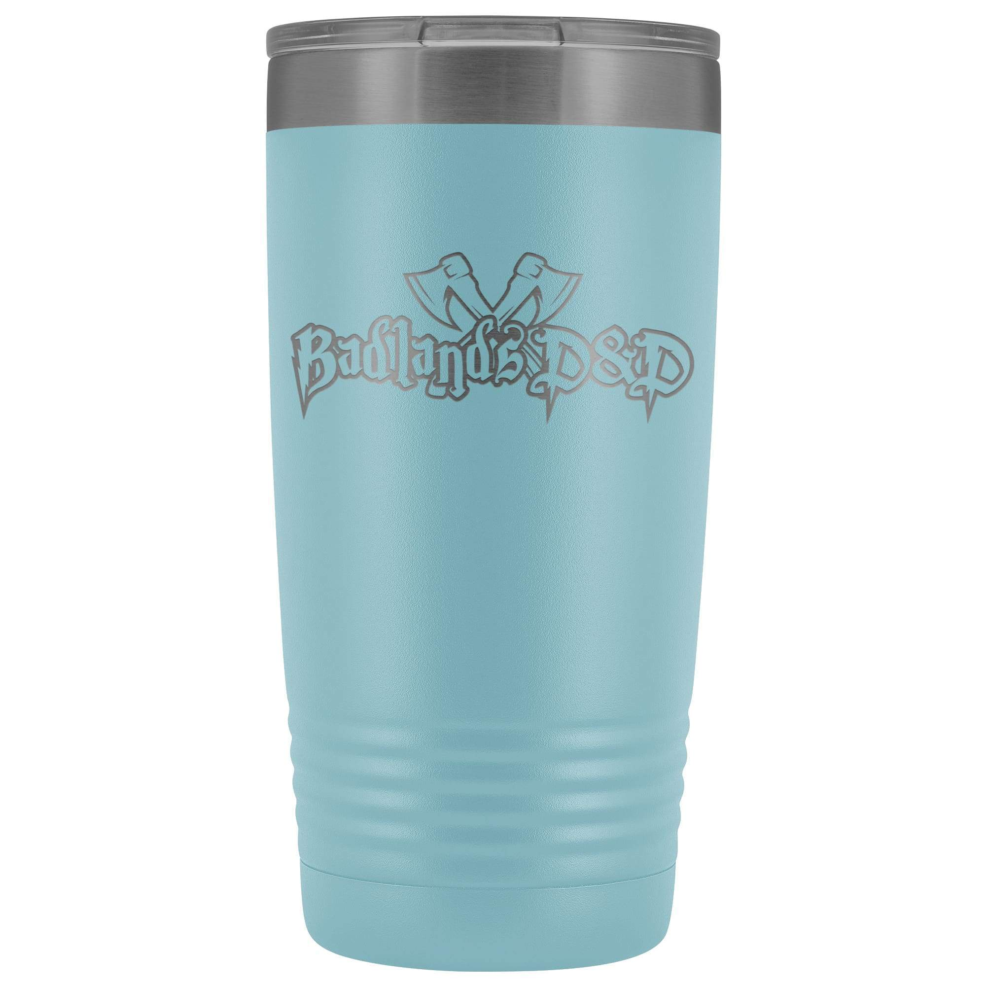 Badlands D&D 20oz Vacuum Tumbler - Light Blue - Tumblers