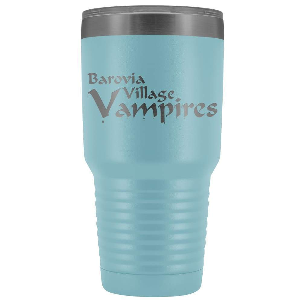 Barovia Village Vampires 30oz Vacuum Tumbler - Light Blue - Tumblers