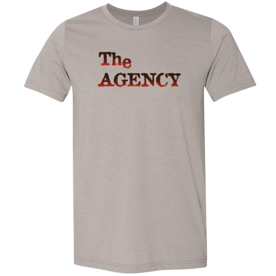 Chatty Fam The Agency TS Unisex Premium Tee - Heather Stone / XS
