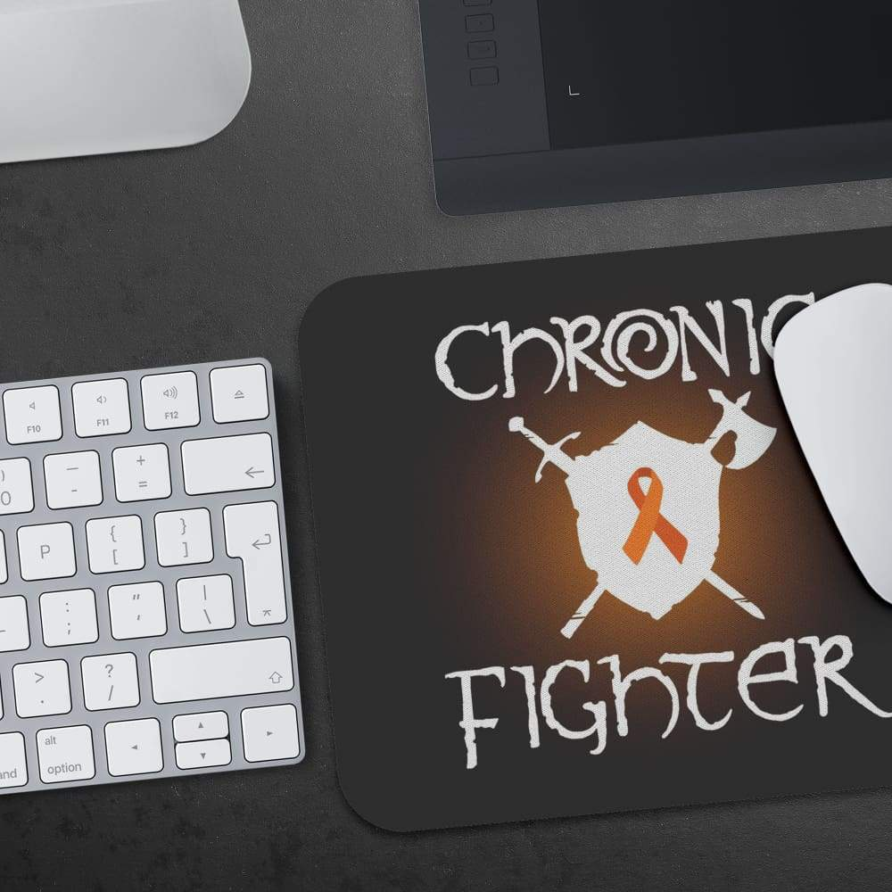 Chronic Fighter White Arms MS Ribbon Mousepad - Mousepads