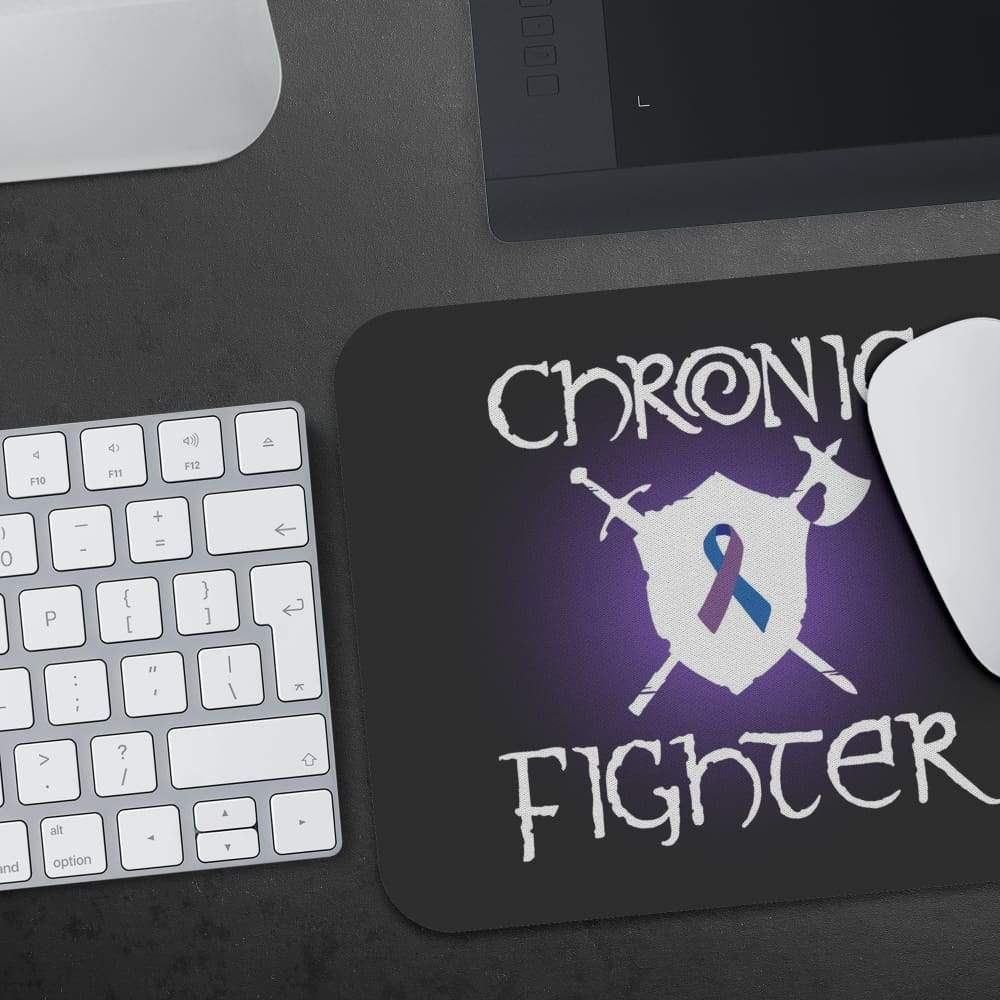 Chronic Fighter White Arms RA Ribbon Mousepad - Mousepads
