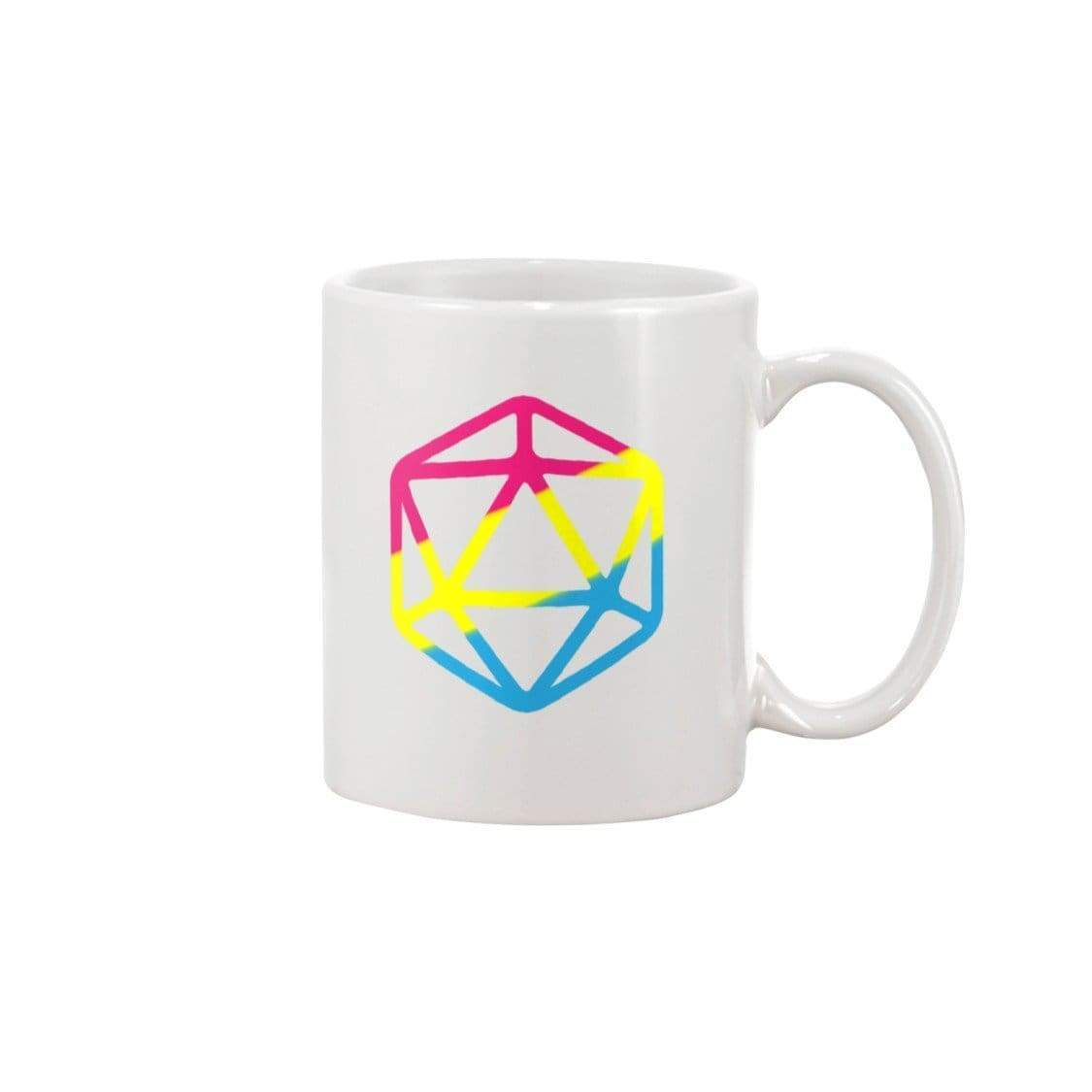 D20 Critical Pride Pan Pride 11oz Coffee Mug - Mugs