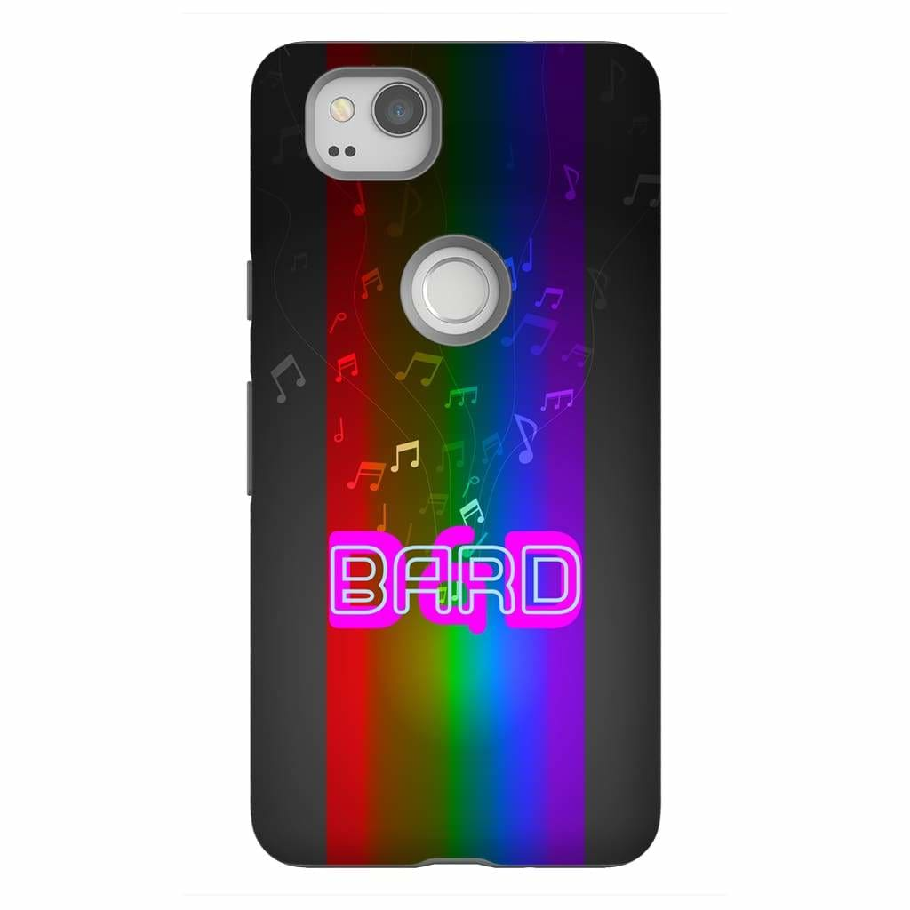 D&D Fusion Bard Phone Case - Tough - Google Pixel 2 - SoMattyGameZ