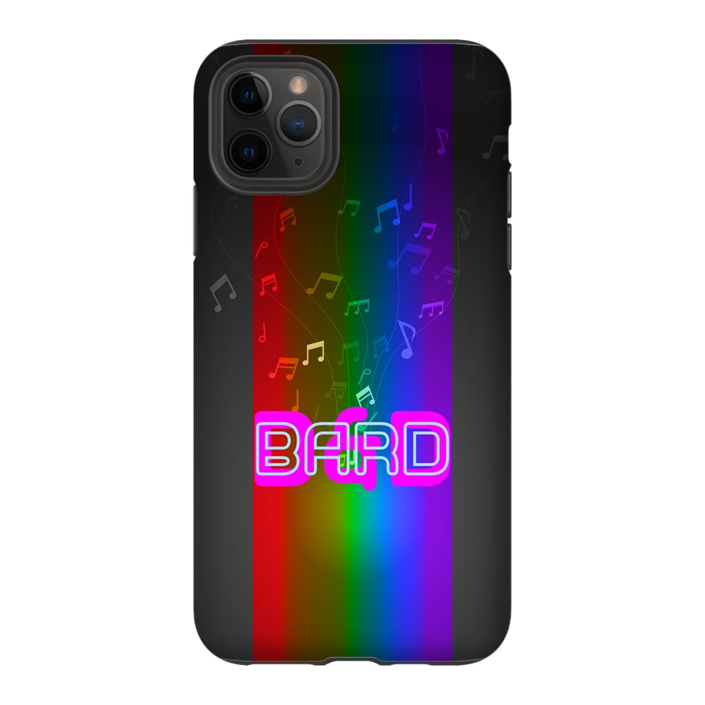 D&D Fusion Bard Phone Case - Tough - iPhone 11 Pro Max - SoMattyGameZ
