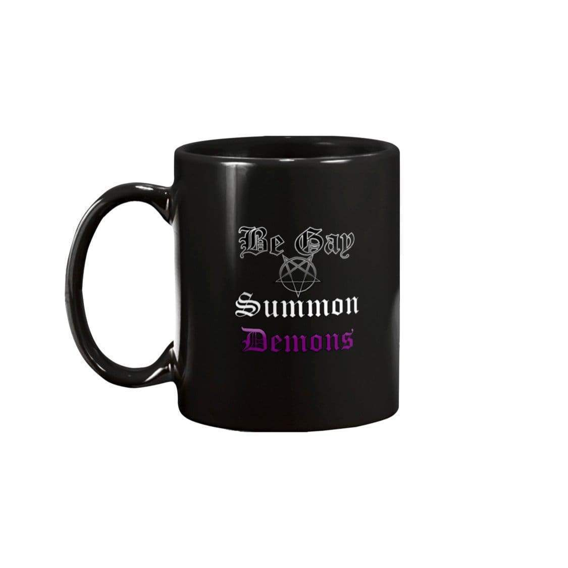 Dice Priori Be Gay Summon Demons Ace 15oz Coffee Mug - Mugs