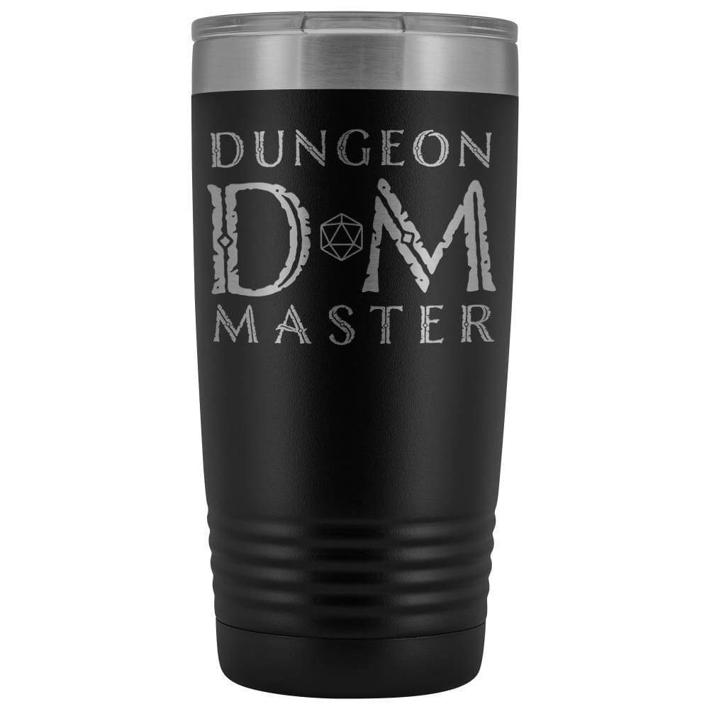 Dungeon Master DM Ancient 20oz Vacuum Tumbler - Black - Tumblers