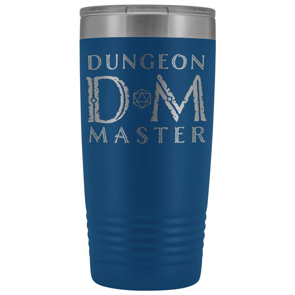 Dungeon Master DM Ancient 20oz Vacuum Tumbler - Blue - Tumblers