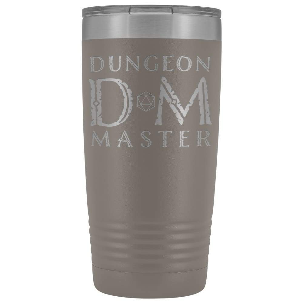 Dungeon Master DM Ancient 20oz Vacuum Tumbler - Pewter - Tumblers