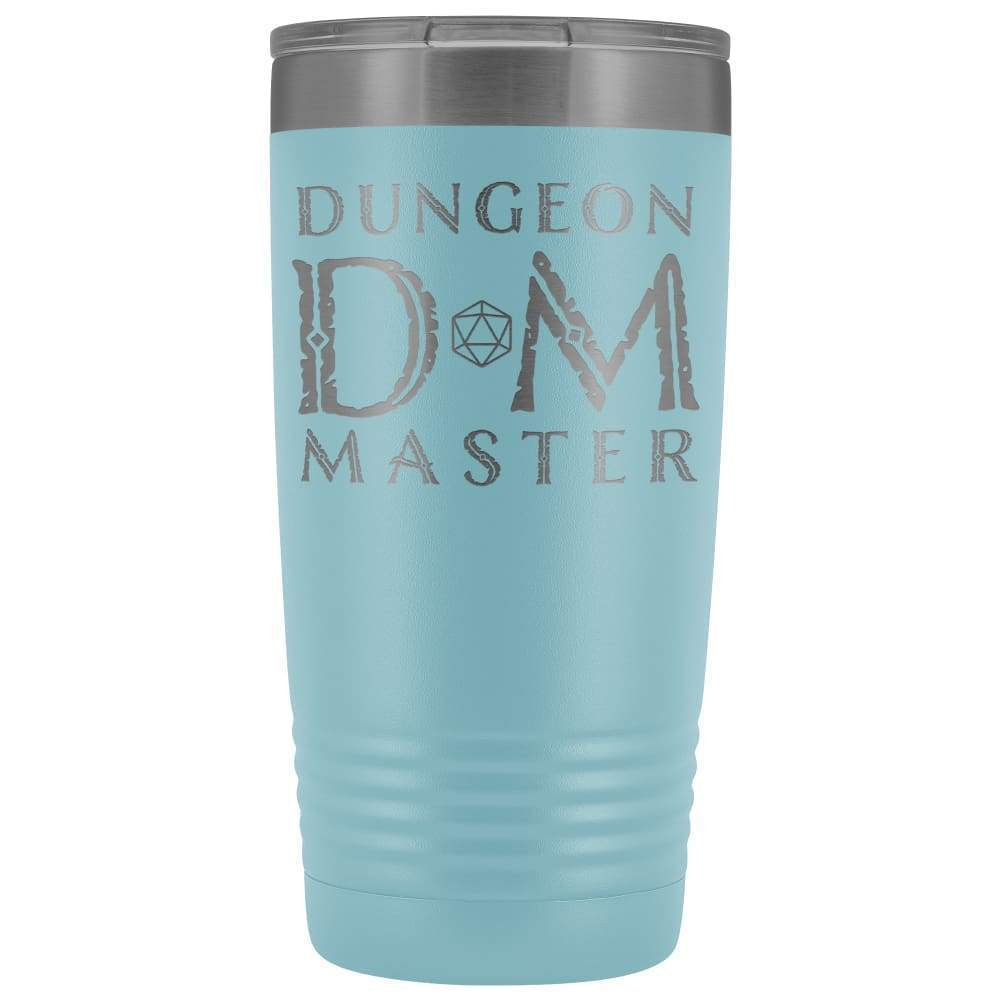 Dungeon Master DM Ancient 20oz Vacuum Tumbler - Light Blue - Tumblers
