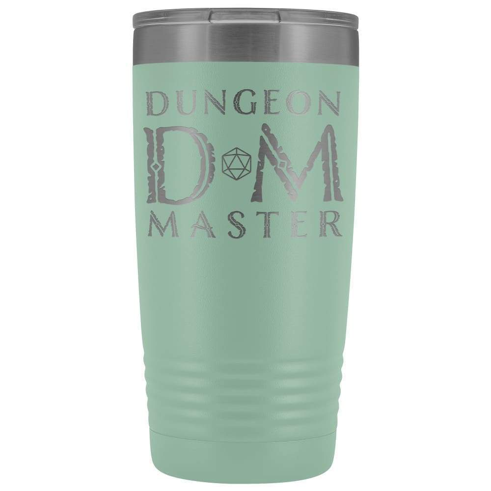 Dungeon Master DM Ancient 20oz Vacuum Tumbler - Teal - Tumblers