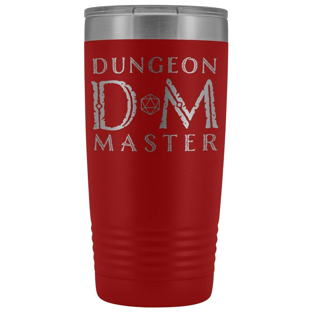 Dungeon Master DM Ancient 20oz Vacuum Tumbler - Red - Tumblers