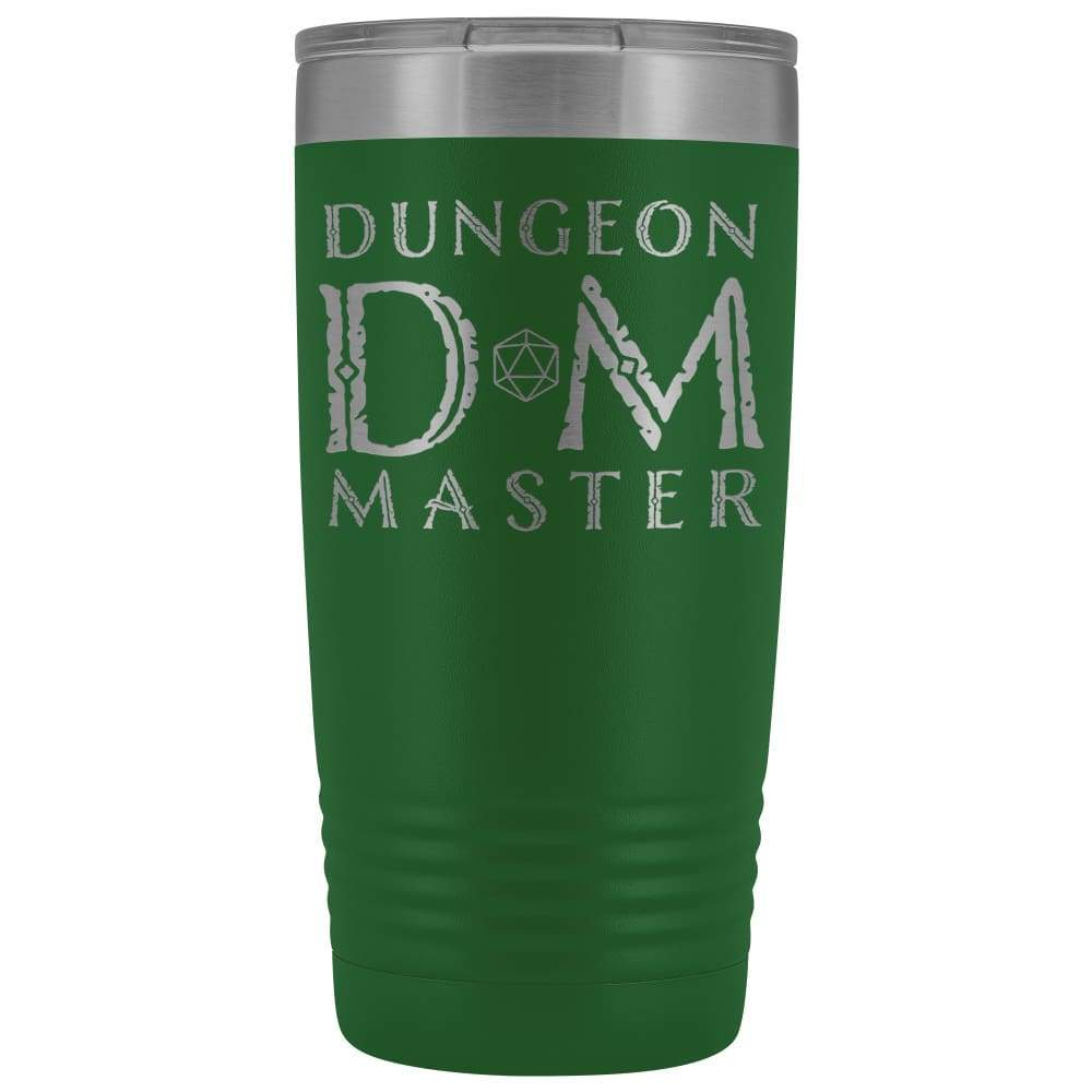 Dungeon Master DM Ancient 20oz Vacuum Tumbler - Green - Tumblers