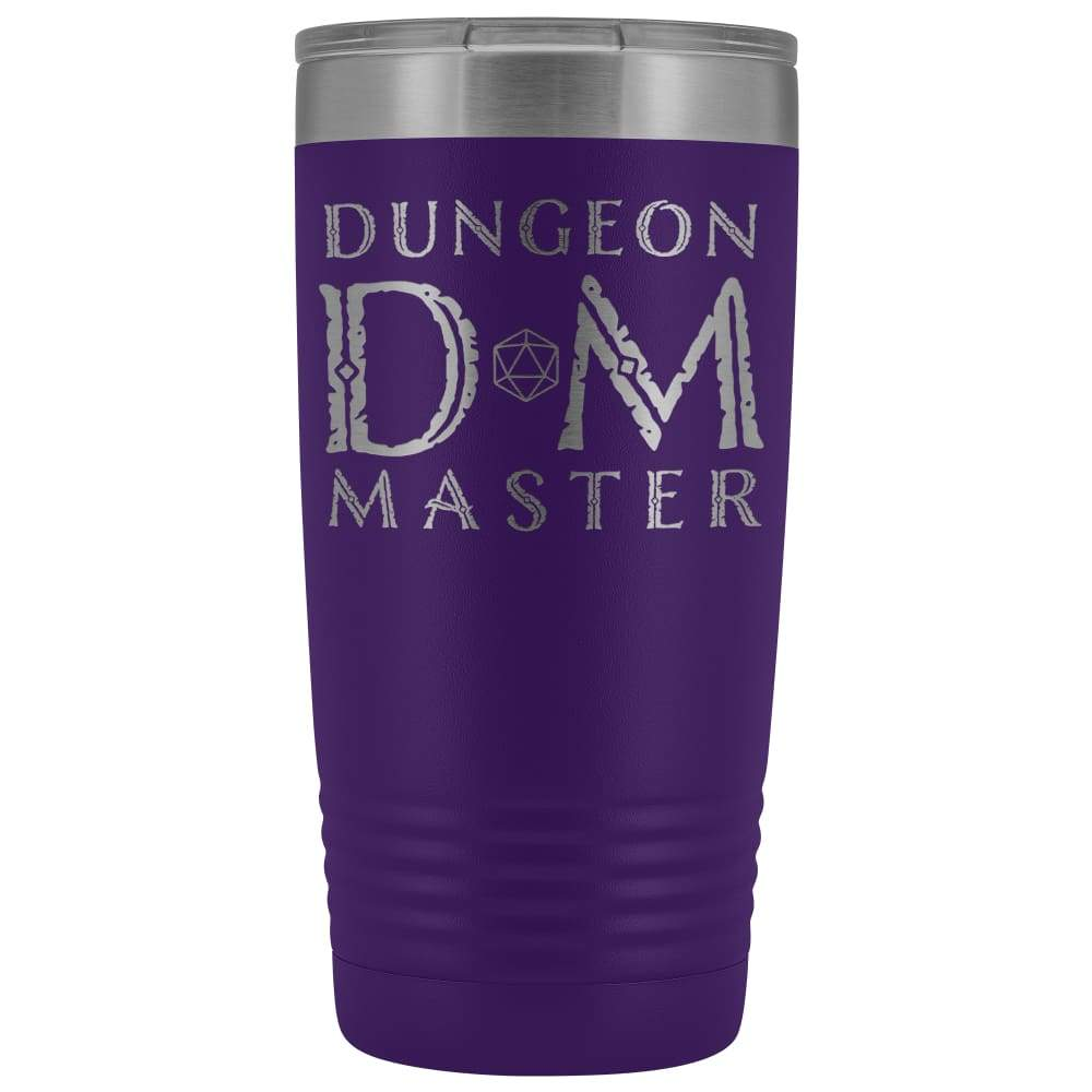 Dungeon Master DM Ancient 20oz Vacuum Tumbler - Purple - Tumblers