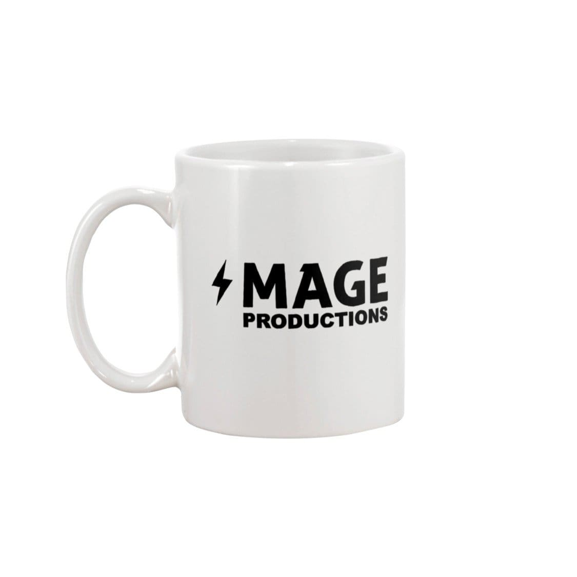 Mage Productions Classic Logo 15oz Coffee Mug - White / 15OZ - Mage Productions