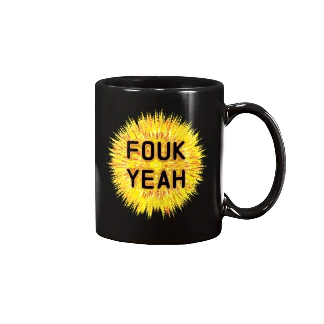 SoulBearRPG Fouk Yeah 11oz Coffee Mug - Black / 11OZ - Mugs