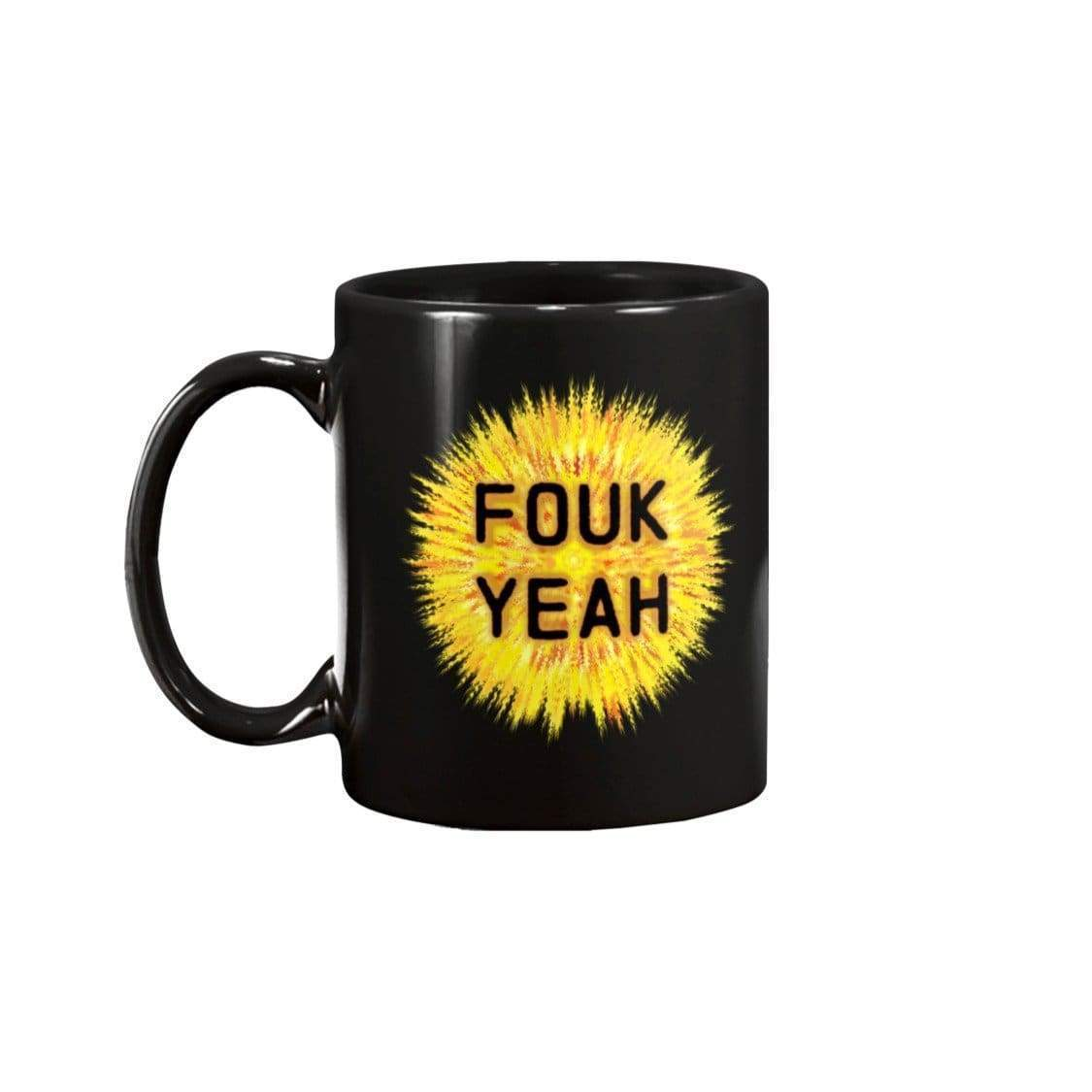 SoulBearRPG Fouk Yeah 15oz Coffee Mug - Black / 15OZ - Mugs
