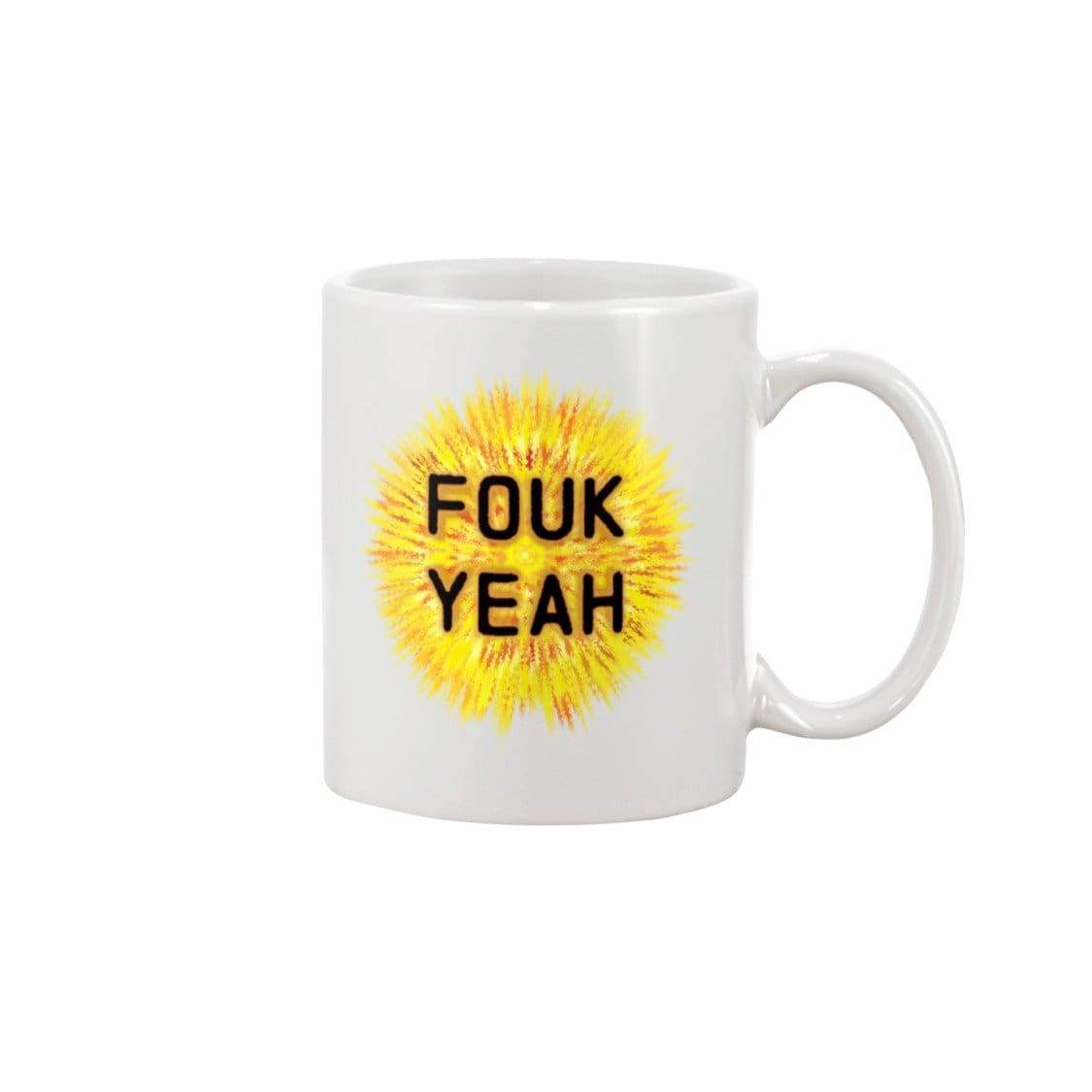 SoulBearRPG Fouk Yeah 15oz Coffee Mug - White / 15OZ - Mugs