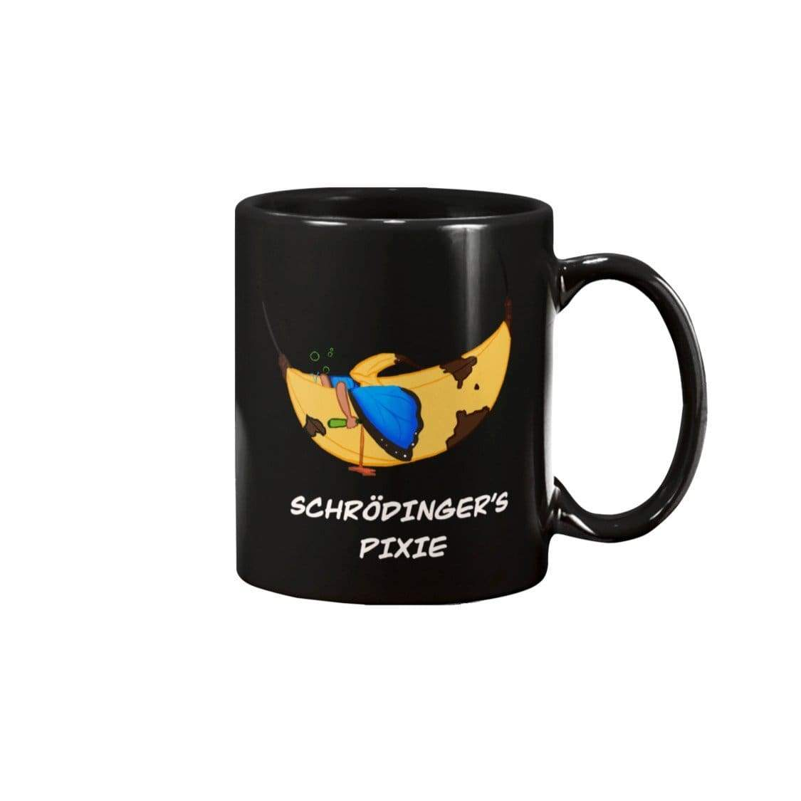 SoulBearRPG Schrodinger's Pixie 11oz Coffee Mug - Black / 11OZ - Mugs