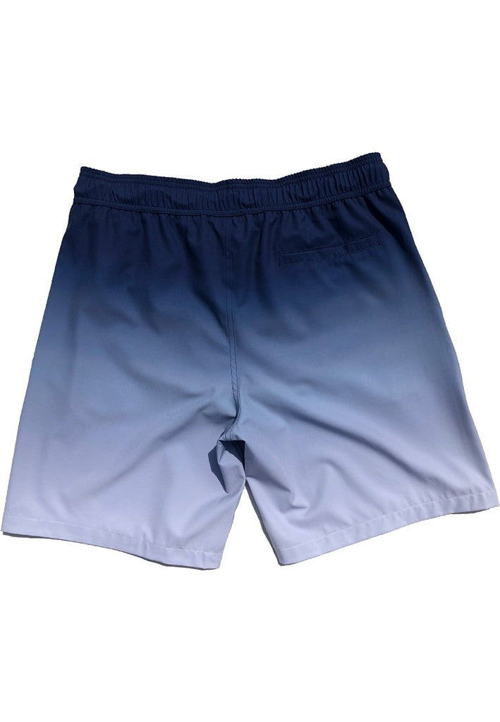 "Eco-Friendly Quick Dry UV Protection Perfect Fit Bordeaux Beach Shorts ""Sunrise"" Side and Back Pockets"