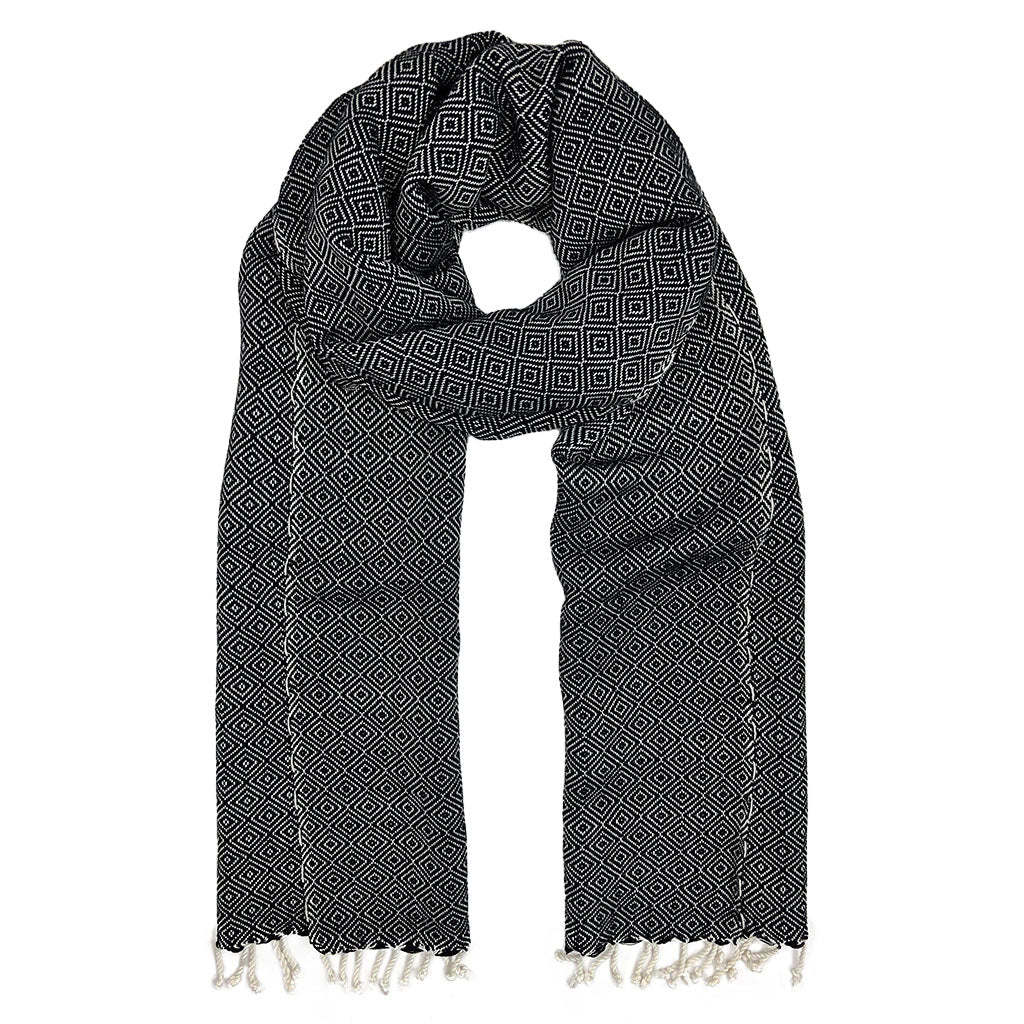 Organic Cotton Diamond Scarf