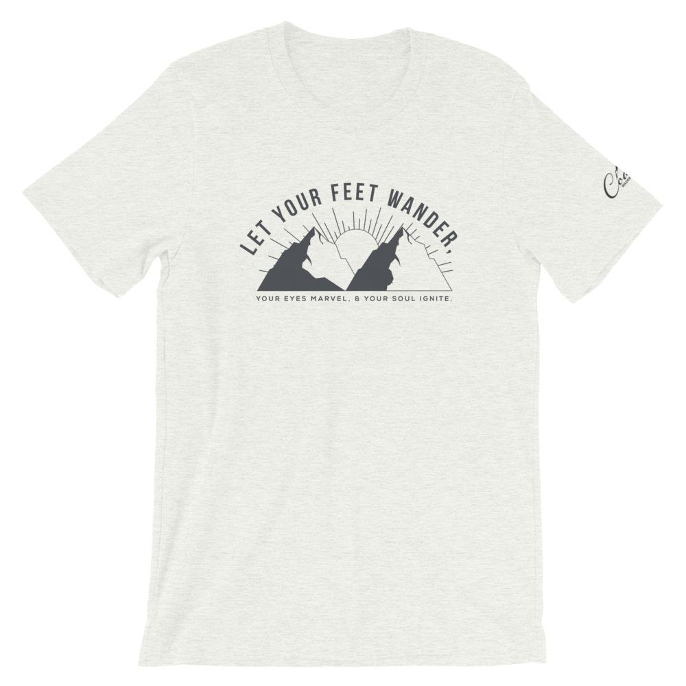 Let Your Feet Wander Tee