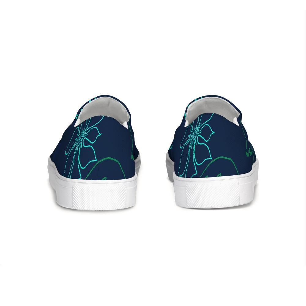 FYC Gaffe Canvas Slip-On Boat Shoes