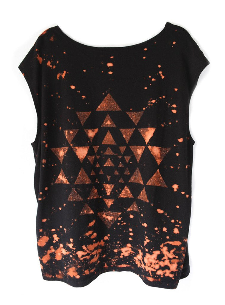 Men's Star Yantra Tee'Yoga Shri Yantra