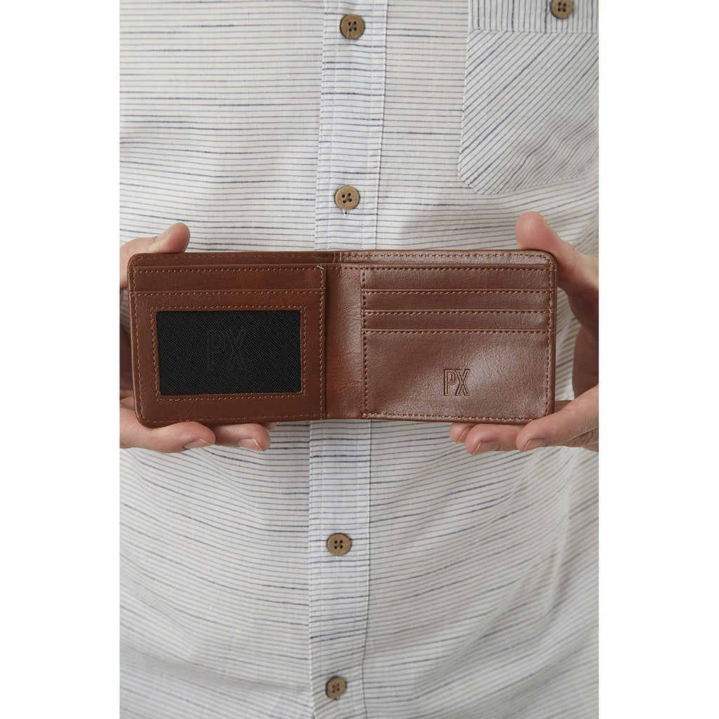 Evan Vegan Leather Bi-Fold Wallet