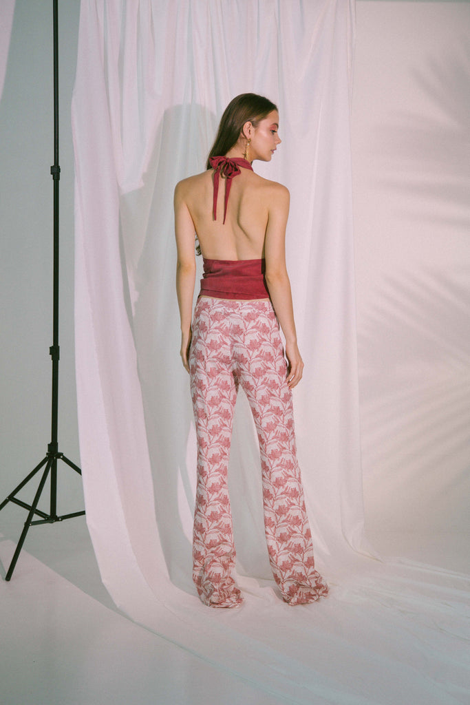 Plato Trousers in Canyon Rose