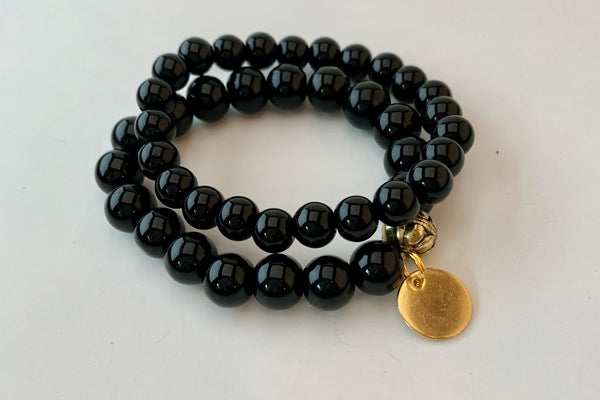 Double Stack Bracelet - Black