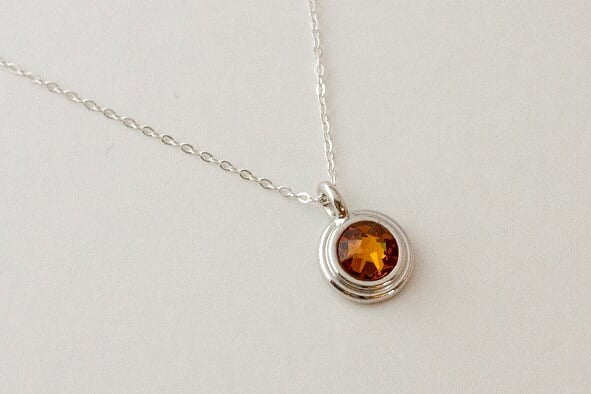 Little's Birthstone Necklace