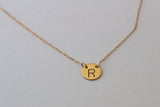 Large Font Initial Necklace