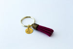 Tassel Key Chain - small single charm