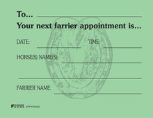 Load image into Gallery viewer, Farrier Forms Appointment Pads