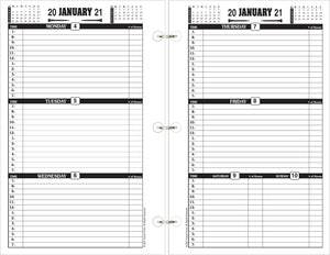 2021 Farrier Forms Weekly Planner