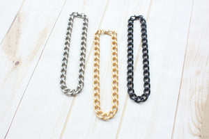 XL Curb Chain Choker