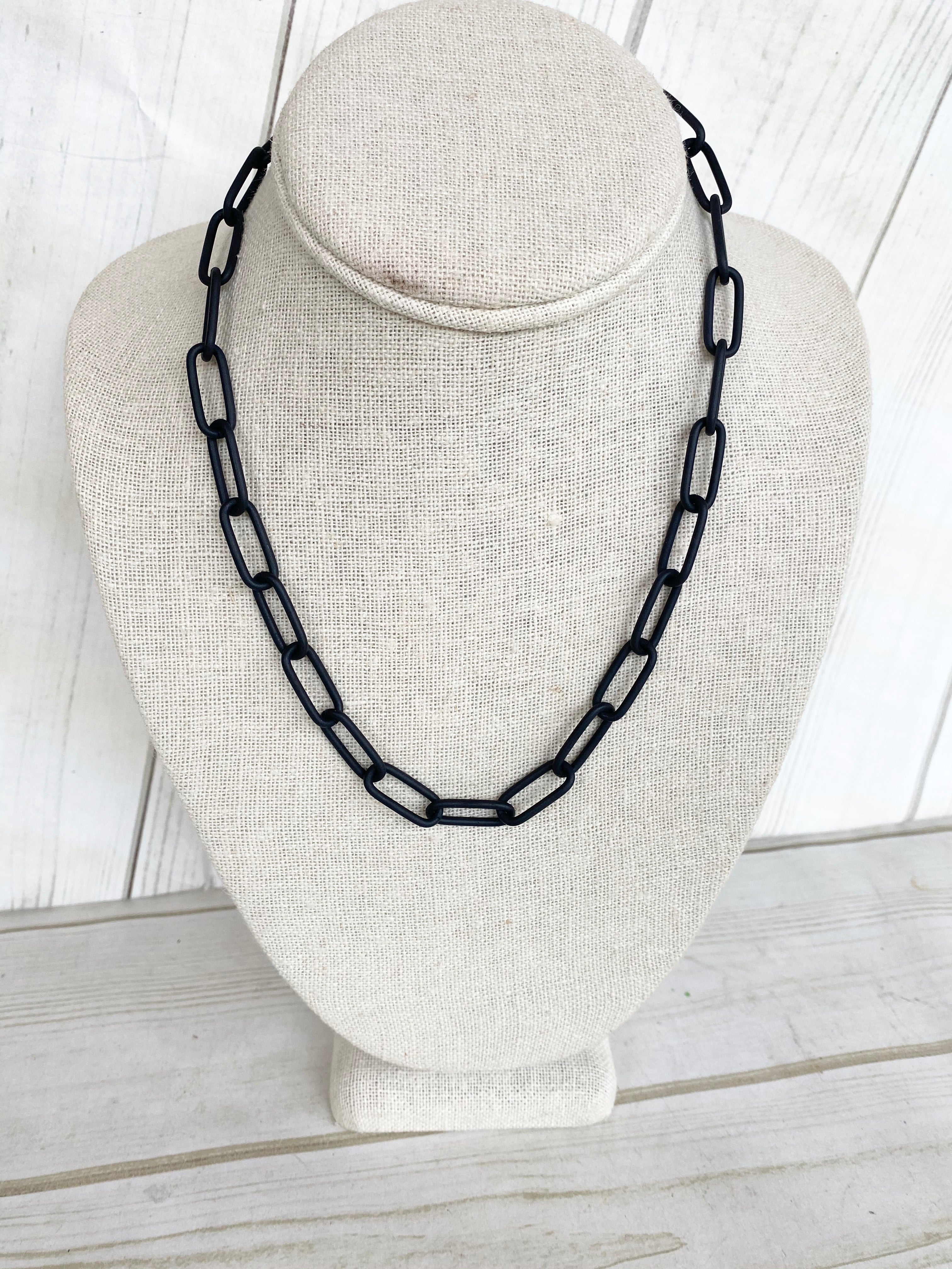 XL Paperclip Necklace