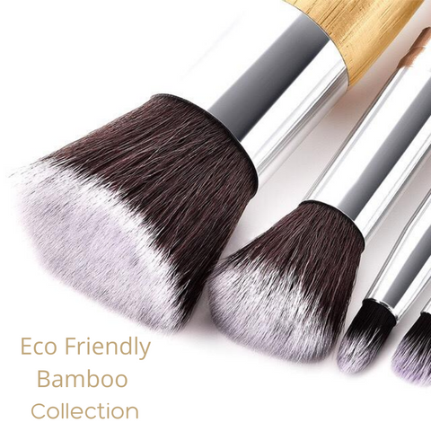 bamboo vegan makeup brushes